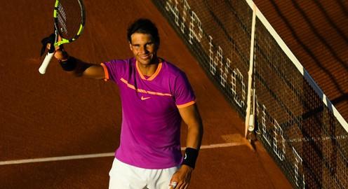 Vòng 3 đơn nam Roma mở rộng 2017: Nadal vào tứ kết, Wawrinka bị loại