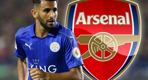 TRỰC TIẾP Chuyển nhượng bóng đá quốc tế ngày 24/6/2017: Mahrez công khai muốn đến Arsenal