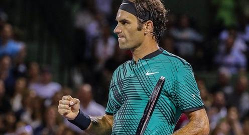 Bán kết Miami mở rộng 2017: Federer 2-1 Kyrgios: Gừng càng già càng cay