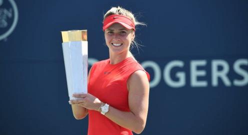 Elina Svitolina vô địch đơn nữ Rogers Cup 2017