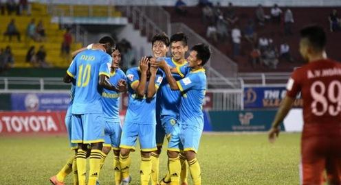 CLB TP. HCM 1-4 Sanna Khánh Hoà: Đội khách giành chiến thắng ấn tượng
