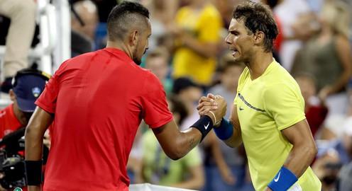 VIDEO, Cincinnati Masters 2017: Đánh bại Nadal, Kyrgios giành quyền vào bán kết