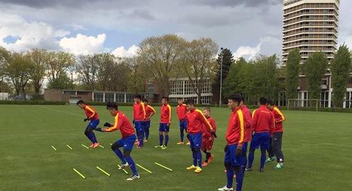 23h30 tối nay (26/4), U20 Việt Nam đá trận giao hữu cuối cùng tại Đức