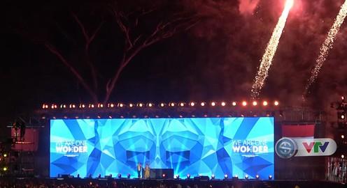 Rực rỡ sắc màu lễ bế mạc ASIAN Para Games 3