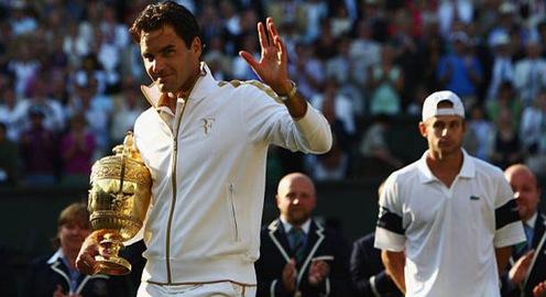 Roger Federer muốn chia sẻ chức vô địch Wimbledon cho đối thủ