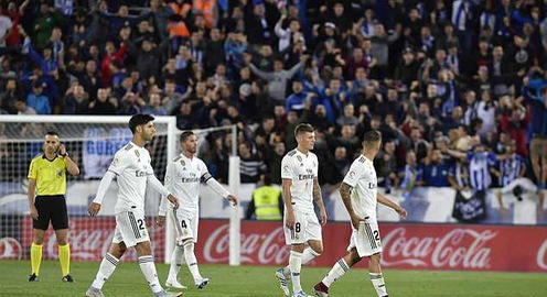 Real Madrid bị