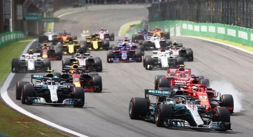 Đua xe F1: Lewis Hamilton giành chiến thắng ở Brazil GP 2018