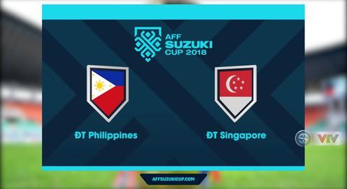 VIDEO: Tổng hợp diễn biến ĐT Philippines 1-0 ĐT Singapore (Bảng B AFF Cup 2018)