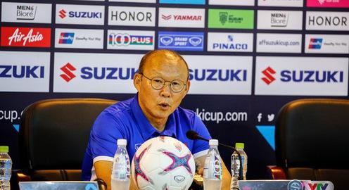 AFF Cup 2018: HLV Park Hang Seo không muốn nói trước kết quả trận gặp ĐT Malaysia tại Bukit Jalil