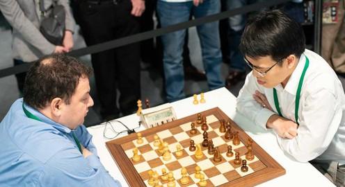 Lê Quang Liêm tạm xếp thứ 19 giải cờ chớp vô địch thế giới