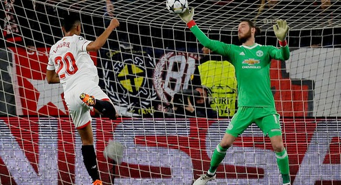 Kết quả bóng đá Champions League sáng 22/2: Sevilla 0 - 0 Manchester United, Shakhtar Donetsk 2 - 1 Roma