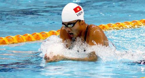 Bơi Đại hội Thể thao toàn quốc 2018 ngày 1/12: Nguyễn Thị Ánh Viên giành 2 HCV, phá liên tiếp 2 kỷ lục Đại hội