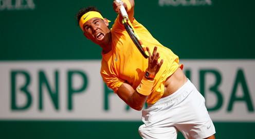 Thắng nhàn Dominic Thiem, Rafael Nadal tiến vào bán kết Monte Carlo Masters 2018