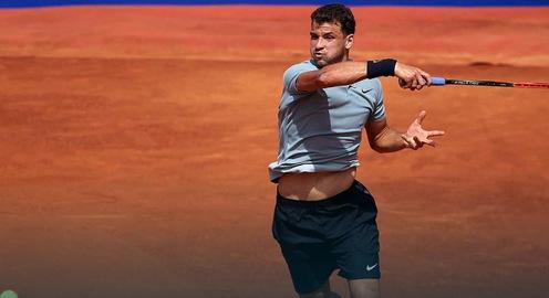 Barcelona Open 2018: Novak Djokovic dừng bước ngay vòng 2, Dimitrov cùng Dominic Thiem đi tiếp