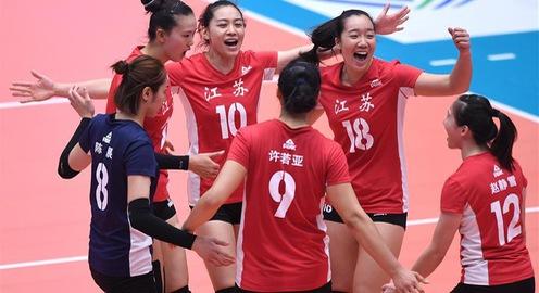 Giải bóng chuyền Cúp VTV9 Bình Điền 2018: Giang Tô (Trung Quốc) và BIP (Mỹ) cùng thắng nhọc