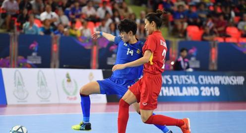 ĐT futsal nữ Việt Nam giành hạng tư châu Á sau thất bại trước Thái Lan trong loạt đá luân lưu