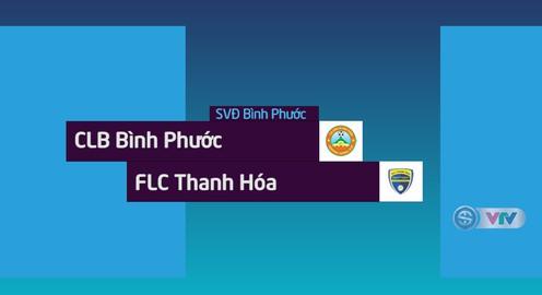 VIDEO: Tổng hợp trận đấu CLB Bình Phước 1-1 FLC Thanh Hóa (Tứ kết lượt về Cúp QG 2018)