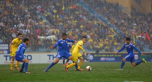 CLB Quảng Nam 1-1 Sông Lam Nghệ An: Chia điểm tại Tam Kỳ!