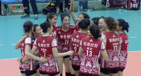 Ngược dòng ngoạn mục sau 5 set, Giang Tô (Trung Quốc) vô địch Cúp VTV9 Bình Điền 2018