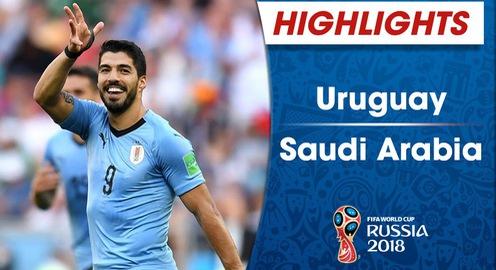 HIGHLIGHTS FIFA World Cup™ 2018: Uruguay 1-0 Saudi Arabia