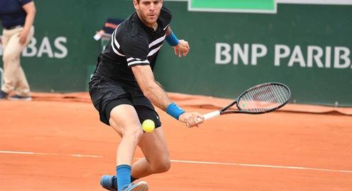 Thắng kịch tính Cilic, Del Potro hẹn Nadal tại bán kết Pháp mở rộng
