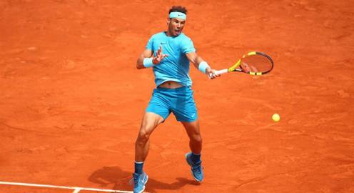 Ngược dòng đánh bại Schwartzman, Nadal vào bán kết Pháp mở rộng 2018
