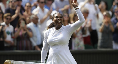 Serena Williams dễ dàng tiến vào chung kết Wimbledon