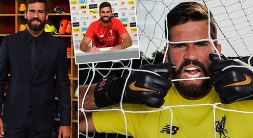 Thủ môn Alisson chính thức ra mắt Liverpool