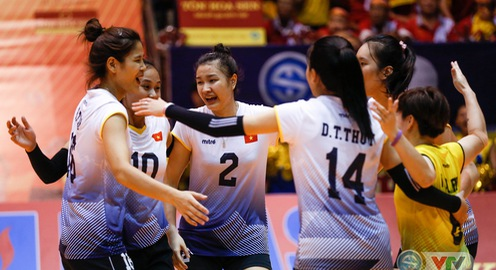 ẢNH: Những khoảnh khắc ấn tượng trong trận chung kết VTV Cup Ống nhựa Hoa Sen 2018