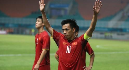 ẢNH: Olympic Việt Nam thất bại trước Olympic Hàn Quốc và dừng bước ở bán kết ASIAD 2018