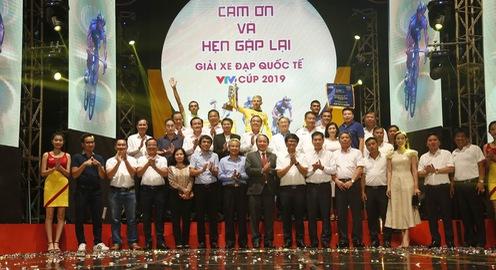 Lễ bế mạc và Trao giải thưởng Giải xe đạp quốc tế VTV Cup Tôn Hoa Sen 2018
