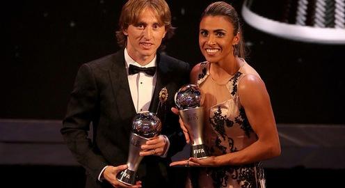 Luka Modric giành chiến thắng tại FIFA The Best 2018
