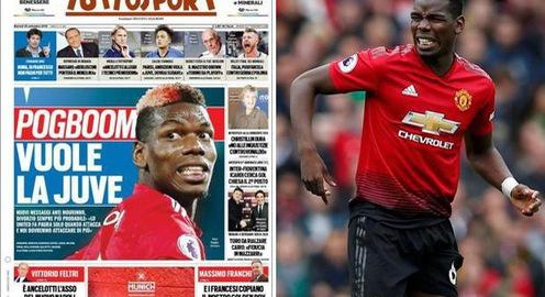 Chuyển nhượng bóng đá quốc tế ngày 25/9: Pogba muốn rời Man Utd để trở lại Juventus, sát cánh cùng Ronaldo