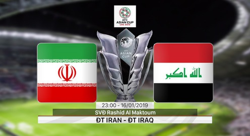 VIDEO Highlights Asian Cup 2019: ĐT Iran 0-0 ĐT Iraq (Bảng D)