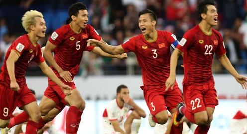 ẢNH: Những khoảnh khắc không quên của ĐT Việt Nam vượt qua ĐT Jordan ở vòng 1/8 Asian Cup 2019
