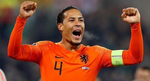 Virgil van Dijk sẽ vắng mặt ở trận đấu cuối vòng loại EURO 2020