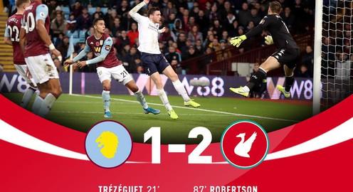 Aston Villa 1-2 Liverpool: Ghi 2 bàn trong 7 phút cuối, The Kop thắng kịch tính