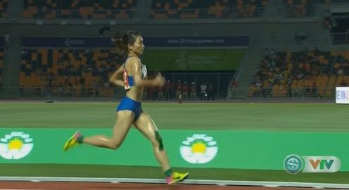 SEA Games 30: Nguyễn Thị Oanh giành HCV 3000m vượt chướng ngại vật nữ