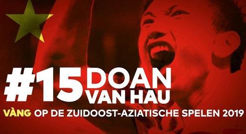 Đoàn Văn Hậu được CLB Heerenveen vinh danh với tấm HCV cùng U22 Việt Nam