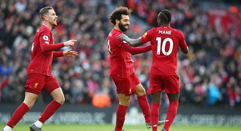 Kết quả, bảng xếp hạng vòng 17 Ngoại hạng Anh: Liverpool 2-0 Watford, Chelsea 0-1 Bournemouth, Leicester 1-1 Norwich