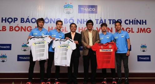 CLB Hoàng Anh Gia Lai giới thiệu nhà tài trợ của mùa giải mới