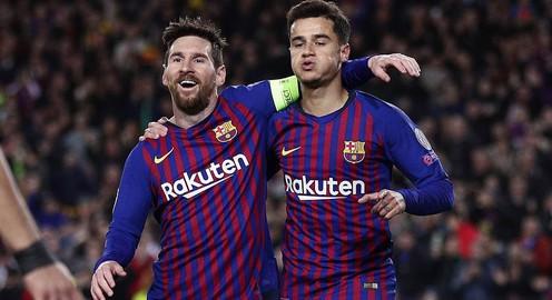 Messi lập cú đúp, Barcelona thắng đậm Lyon