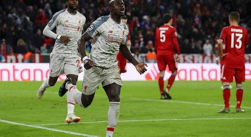 Thắng cách biệt Bayern Munich, Liverpool giành quyền vào tứ kết Champions League