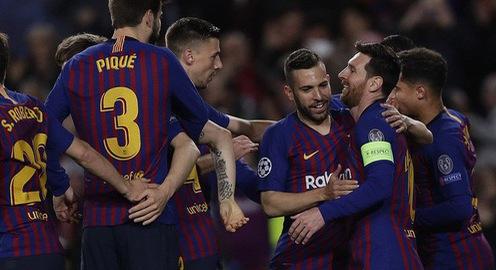 Kết quả Champions League sáng 14/3: Barcelona 5-1 Lyon, Bayern Munich 1-3 Liverpool
