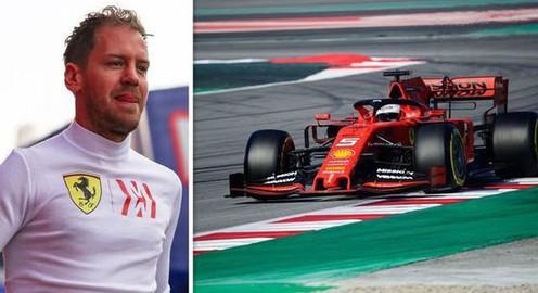 Câu chuyện thú vị sau cách đặt tên những chiếc xe F1 của Sebastien Vettel