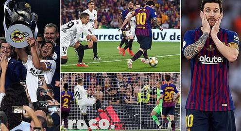 Hạ gục Barcelona, Valencia giành cúp Nhà vua Tây Ban Nha