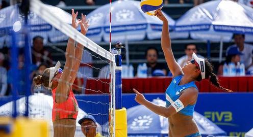 Giải bóng chuyền bãi biển nữ thế giới - Tuần Châu Hạ Long 2019: Trực tiếp trên VTV6 và ứng dụng VTV Sports