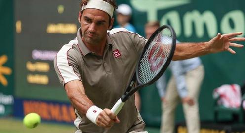 Roger Federer vượt khó trong ngày ra quân tại Halle mở rộng 2019