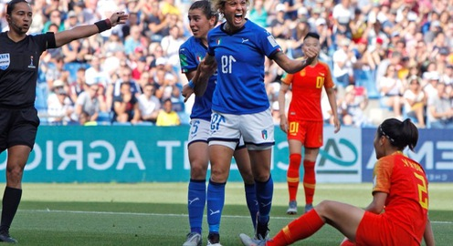 World Cup nữ 2019: ĐT Trung Quốc và ĐT Nhật Bản dừng bước sớm