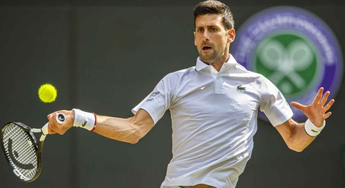 Tứ kết đơn nam Wimbledon 2019: Djokovic 3-0 (6/4, 6/0, 6/2) Goffin, Guido Pella 1-3 (5/7, 4/6, 6/3, 3/6) Roberto Bautista Agut